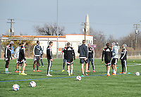 D.C. United Training, January 24, 2015