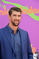 Michael Phelps at Nickelodeon's Kids' Choice Sports 2017 at UCLA's Pauley Pavilion. Los Angeles, USA 13 July  2017<br /> Picture: Paul Smith/Featureflash/SilverHub 0208 004 5359 sales@silverhubmedia.com