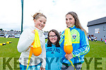 Attending the Kerins O&rsquo;Rahillys Strand Road community day on Sunday.<br /> L-r, Millie Hayes, Siobhan Clifford and Aoife Hogan.