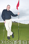 Golf Captain: Kerry captain Murt Scanlon on the Ballybunion Golf Course on Sunday afternoon..