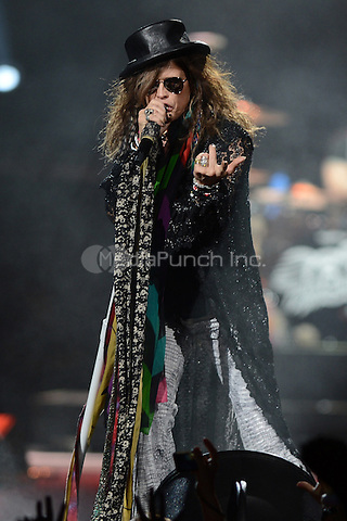 SUNRISE, FL - DECEMBER 09:  Steven Tyler of Aerosmith performs at the BB&T Center on December 9, 2012 in Miami.  Credit: mpi04/MediaPunch Inc.