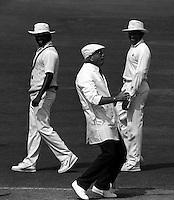 Pix:Michael Steele/SWpix...Cricket. England v Sri Lanka, Lords...COPYRIGHT PICTURE>>SIMON WILKINSON..Dickie Bird.