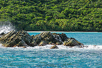 Cinnamon Bay from the water<br />