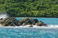 Cinnamon Bay from the water<br /> Virgin Islands National Park<br /> St. John<br /> US Virgin Islands