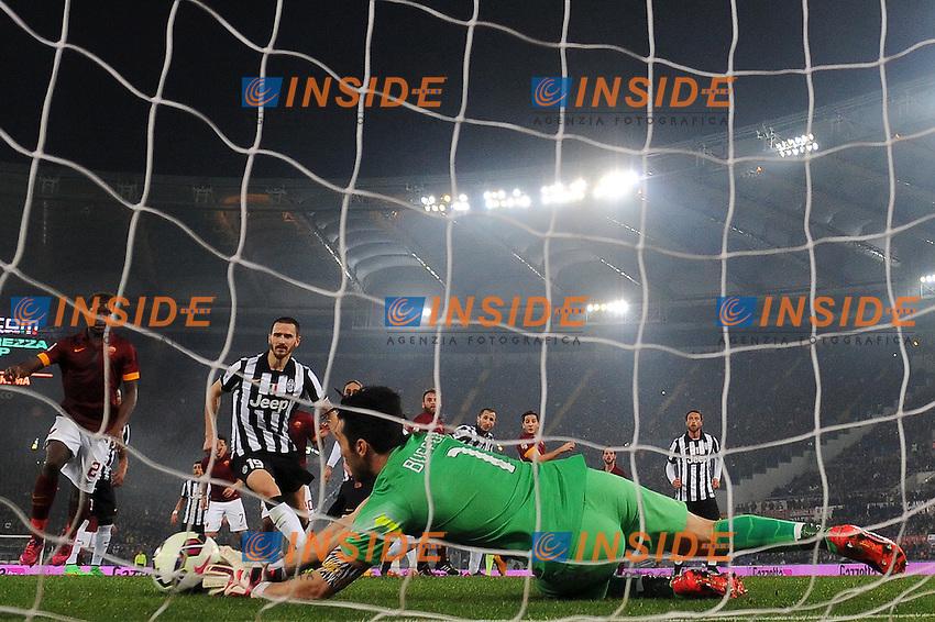 Gianluigi Buffon Juventus <br /> Roma 02-03-2015 Stadio Olimpico Football Calcio Serie A AS Roma - Juventus. Foto Andrea Staccioli / Insidefoto