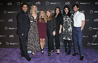 09 September 2018 - Beverly Hills, California - John Stamos, Elizabeth Lail, Caroline Kepnes, Sarah Schechter, Gina Girolamo, Sera Gamble, Penn Badgley. &quot;You&quot; at The Paley Center For Media's 2018 PaleyFest Fall TV Previews held at The Paley Center for Media . <br /> CAP/ADM/PMA<br /> &copy;PMA/ADM/Capital Pictures