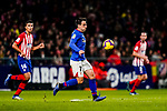 Benat Etxebarria Urkiaga of Athletic de Bilbao in action during the La Liga 2018-19 match between Atletico de Madrid and Athletic de Bilbao at Wanda Metropolitano, on November 10 2018 in Madrid, Spain. Photo by Diego Gouto / Power Sport Images