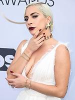 LOS ANGELES, EUA, 27.01.2019 - PREMIAÇÃO-EUA - A atriz e cantora Lady Gaga durante tapete vermelho do 25º Anual Screen Actors Guild Awards, realizada no Shrine Auditorium em Los Angeles nos Estados Unidos na noite de ontem domingo, 27. (Foto: Brazil Photo Press)