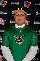 Mateo Valle during the Under Armour All-America Tournament powered by Baseball Factory on January 17, 2020 at Sloan Park in Mesa, Arizona.  (Mike Janes/Four Seam Images)