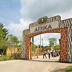 Heart of Africa Exhibit at the Columbus Zoo & Aquarium