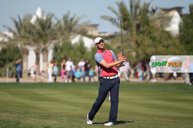 Martin Kaymer (GER) on the 2nd during the second round at the Abu Dhabi HSBC Golf Championship in the Abu Dhabi golf club, Abu Dhabi, UAE..Picture: Fran Caffrey/www.golffile.ie.