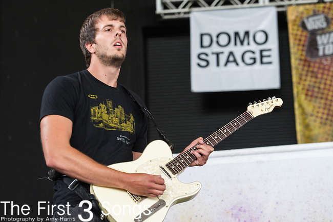 Goldhouse performs during the Vans Warped Tour at the Klipsch Music Center in Indianapolis, IN.