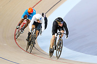 Bradly Knipe of New Zealand competes in the Men's Keirin 1st Round Repechage. Gold Coast 2018 Commonwealth Games, Track Cycling, Anna Meares Velodrome, Brisbane, Australia. 6 April 2018 © Copyright Photo: Anthony Au-Yeung / www.photosport.nz /SWpix.com