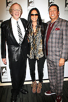 LOS ANGELES - JAN 28: Ken Kragen, Sheila E, Smokey Robinson at the 30th Anniversary of 'We Are The World' at The GRAMMY Museum on January 28, 2015 in Los Angeles, California