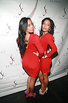To-Tam Sachika and To-Nya Sachika  Attend JONES MAGAZINE PRESENTS SACHIKA TWINS BDAY BASH at SL, NY 12/12/11