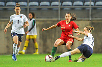 20200304 Faro , Portugal : Portugese midfielder Andreia Faria (20) pictured during the female football game between the national teams of Portugal and Italy on the first matchday of the Algarve Cup 2020 , a prestigious friendly womensoccer tournament in Portugal , on wednesday 4 th March 2020 in Faro , Portugal . PHOTO SPORTPIX.BE | STIJN AUDOOREN