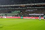 12.03.2018, Weser Stadion, Bremen, GER, 1.FBL, Werder Bremen vs 1.FC Koeln, im Bild<br /> Demo Banner, Montagsspiele, Fans Ostkurve<br /> Foto &copy; nordphoto / Kokenge