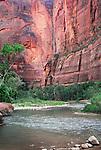 Virgin River in Zion National Park, Utah.