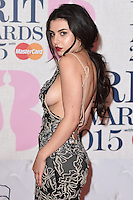 Charlie XCX arrives for the BRIT Awards 2015 at the O2 Arena, London. 25/02/2015 Picture by: Steve Vas / Featureflash
