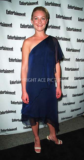 NEW YORK - JUNE 24, 2002: Actress Elizabeth Rohm arrives for Entertainment Weekly's First Annual It List Party June 24, 2002 at Milk Studios in New York City.  Please byline: Alecsey Boldeskul/NY Photo Press.   ..*PAY-PER-USE*      ....NY Photo Press:  ..phone (646) 267-6913;   ..e-mail: info@nyphotopress.com