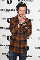 LONDON, UK. October 21, 2018: Cel Spellman at tthe BBC Radio 1 Teen Awards 2018 at Wembley Stadium, London.<br /> Picture: Steve Vas/Featureflash