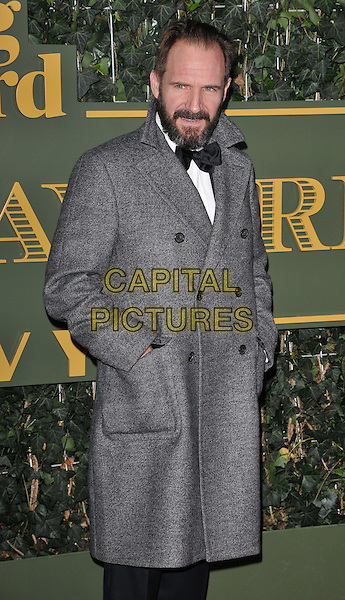 Ralph Fiennes attends the London Evening Standard Theatre Awards 2015, The Old Vic, The Cut, London, England, UK, on Sunday 22 November 2015.<br /> CAP/CAN<br /> &copy;CAN/Capital Pictures