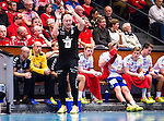Eskilstuna 2014-10-03 Handboll Elitserien Eskilstuna Guif - Alings&aring;s HK :  <br /> Sk&ouml;vdes tr&auml;nare Joakim &Aring;gren gestikulerar<br /> (Foto: Kenta J&ouml;nsson) Nyckelord:  Eskilstuna Guif Sporthallen IFK Sk&ouml;vde HK portr&auml;tt portrait