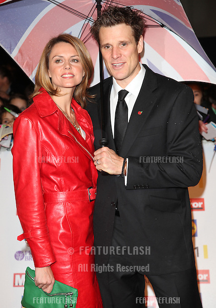 James Cracknell and Beverly Turner arriving for the 2012 Pride of Britain Awards, at the Grosvenor House Hotel, London. 29/10/2012 Picture by: Alexandra Glen / Featureflash