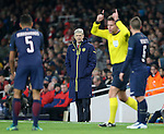 Arsenal's Arsene Wenger looks on dejected during the Champions League group A match at the Emirates Stadium, London. Picture date November 23rd, 2016 Pic David Klein/Sportimage