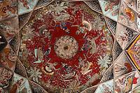 21.10.2008 Bundi(Rajasthan)<br /> <br /> Old painting of the Bundi palace(paintings from 17th century).<br /> <br /> Vieille peinture du palais de Bundi(17eme si&egrave;cle)