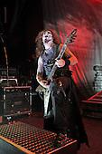 POWERWOLF - itarist Matthew Greywolf - performing live at the Empire in Shepherds Bush London UK - 03 Feb 2017.  Photo credit: Zaine Lewis/IconicPix