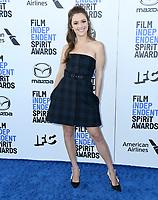 08 February 2020 - Santa Monica - Billie Lourd. 2020 Film Independent Spirit Awards - Arrivals held at Santa Monica Pier. Photo Credit: Birdie Thompson/AdMedia