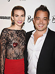 CULVER CITY, CA - OCTOBER 21: Model Rachel McCord (L) and Rick Schirmer attend the Dorit Kemsley Hosts Preview Event For Beverly Beach By Dorit at the Trunk Club on October 21, 2017 in Culver City, California.