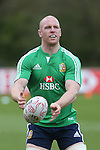 British & Irish Lions training session.Paul O'Connell taking part in the Lions first training session in Wales..Vale Resort.15.05.13.©Steve Pope