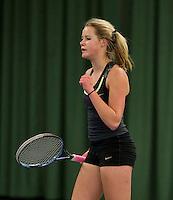 March 15, 2015, Netherlands, Rotterdam, TC Victoria, NOJK, Nina Kruijer (NED)<br /> Photo: Tennisimages/Henk Koster