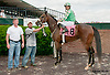 Star Omega winning at Delaware Park on 6/13/13