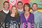 Enjoying the Kevin Melia memorial dance in aid of the Irish Heart Foundation in the Manor Inn, Killorglin on Saturday night were Ger Foley, Marion Casey, John O'Donnell, Anne Melia Coffey and Shane McElroy.   Copyright Kerry's Eye 2008
