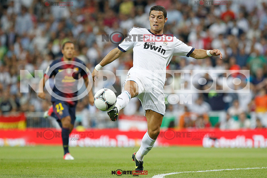Real Madrid's Cristiano Ronaldo during Spanish Supercup 2nd match on august 29 2012...Photo: Alex Cid-Fuentes / ALFAQUI /NortePhoto.com<br />
