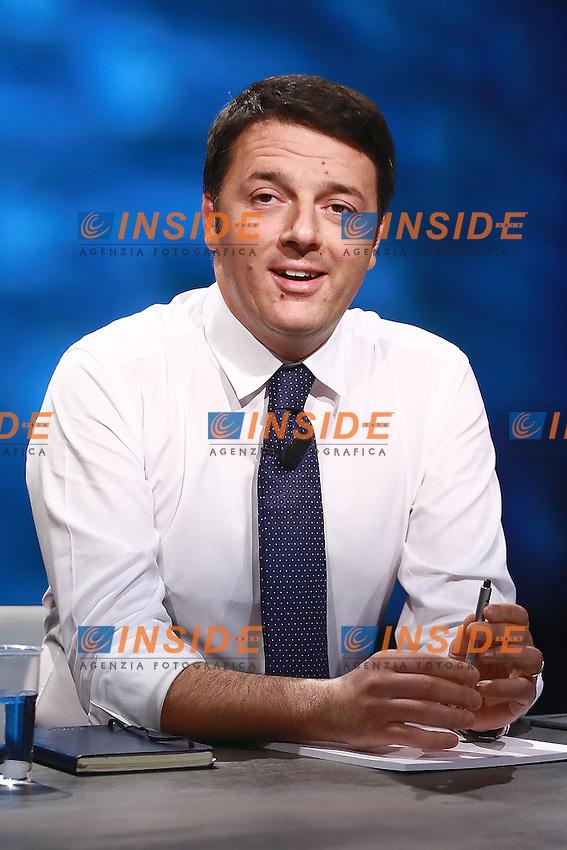 Matteo Renzi Presidente del Consiglio. Italian Premier <br /> Roma,30.11.2014, Studi Rai di Via Teulada, trasmissione In Mezz'ora.<br /> Foto: Srefano Colarieti / Insidefoto