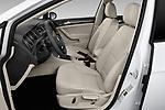Front seat view of a 2019 Volkswagen Golf S 5 Door Hatchback front seat car photos