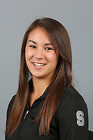 STANFORD, CA-October 16, 2014- Carinne Gade of the Stanford Womens Gymnastics Team