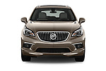 Car photography straight front view of a 2016 Buick Envision Premium-II-AWD 5 Door SUV Front View