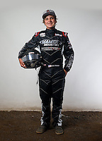 Mar. 21, 2014; Chandler, AZ, USA; LOORRS modified kart driver Cole Mamer poses for a portrait prior to round one at Wild Horse Motorsports Park. Mandatory Credit: Mark J. Rebilas-USA TODAY Sports