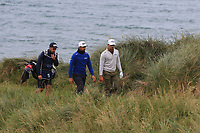 Haydn Porteous (RSA) and Matthieu Pavon (FRA) on the 7th during Round 2 of the Irish Open at LaHinch Golf Club, LaHinch, Co. Clare on Friday 5th July 2019.<br /> Picture:  Thos Caffrey / Golffile<br /> <br /> All photos usage must carry mandatory copyright credit (© Golffile | Thos Caffrey)
