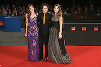 Venice, Italy - September 04: Actors Alexandra Daddario, Anton Yelchin and Ashley Greene attend the 'Burying The Ex' premiere at Palazzo Del Cinema, during the 71st Venice Film Festival on September 04, 2014 in Venice, Italy. (Photo by Mark Cape/Inside Foto)<br /> Venezia, Italy - September 04: Actors Alexandra Daddario, Anton Yelchin and Ashley Greene presenti alla premiere di 'Burying The Ex' al Palazzo Del Cinema, durante del 71st Venice Film Festival. Settenbre 04, 2014 Venezia, Italia. (Photo by Mark Cape/Inside Foto)