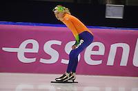 SCHAATSEN: HEERENVEEN: 21-03-2014, IJsstadion Thialf, Training WK Allround, Yvonne Nauta, ©foto Martin de Jong