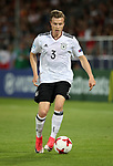 Germany's Yannick Gerhardt in action during the UEFA Under 21 Final at the Stadion Cracovia in Krakow. Picture date 30th June 2017. Picture credit should read: David Klein/Sportimage