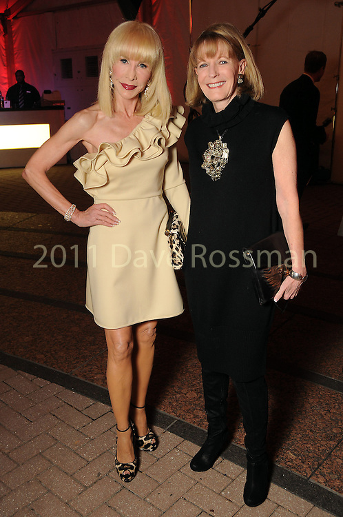 Diane Lokey Farb and Diana Hudson at the first night of Fashion Houston at the Wortham Theater Monday Oct. 10,2011.(Dave Rossman/For the Chronicle)