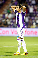 Real Valladolid´s Javi Guerra during La Liga match.August 31,2013. (ALTERPHOTOS/Victor Blanco)
