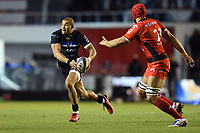 Jonathan Joseph of Bath Rugby in possession. European Rugby Champions Cup match, between RC Toulon and Bath Rugby on December 9, 2017 at the Stade Mayol in Toulon, France. Photo by: Patrick Khachfe / Onside Images